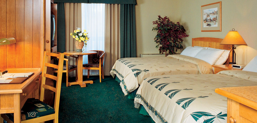 Canada Jasper Sawridge Hotel Standard Double Bedroom with 2 double beds